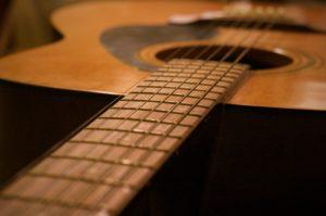 guitar fretboard