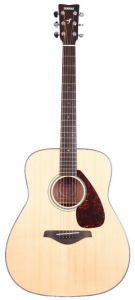 image of a yamaha fg700s guitar for small hands