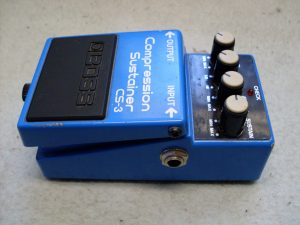 image of boss cs-3 compressor pedal