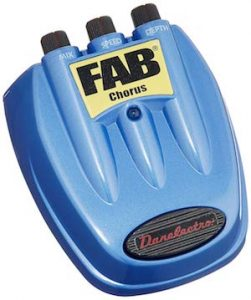 product image of danelectro d5 blue pedal
